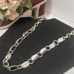 RLM Soho Silver tone Necklace